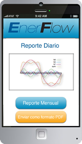 Mobile application for EnerFlow