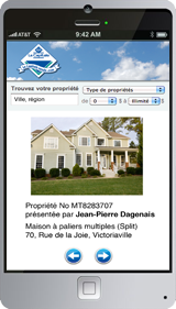 Mobile application for La Capitale