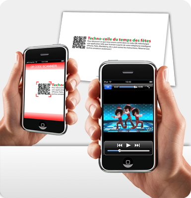 QR Code Campaign for Christmas Cards