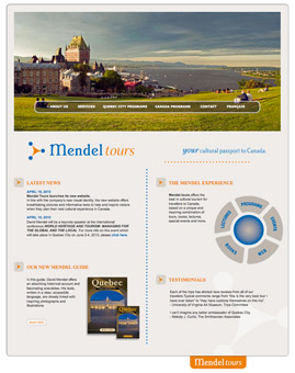 Website for mendel tours